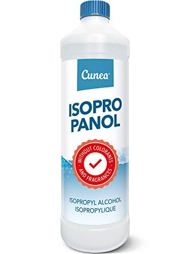Isopropanol 99,9% geeignet als Fettlöser, Reinigungsflüssigkeit 1 Liter - Klebereste Entferner, 1000ml