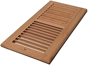 Decor Grates WL614R-U 6-Inch by 14-Inch Wood Return Air, Unfinished Oak