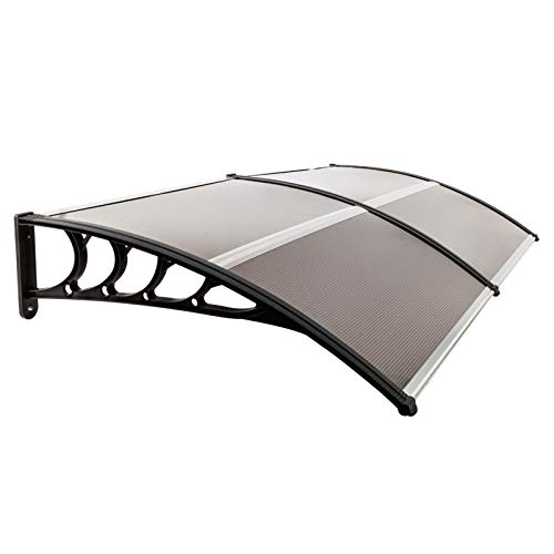 Window Awning Door Rain, Outdoor Polycarbonate Front Door Canopy, Awning Canopy for Patio, Window Door Cover for Rain Snow Sunlight Protection Hollow Sheet (40