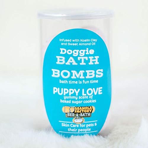 K9 Granola Factory Puppy Love Dog Bath Bomb - 6-1.5OZ Bath Bombs