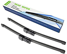 Rear Wiper Blade,ASLAM Type-E 11H for 2010-2017 Volkswagen Golf Rear Windshield,Exact Fit(Pack of 2)
