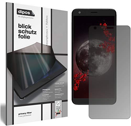 dipos I Blickschutzfolie matt kompatibel mit Sharp B10 Sichtschutz-Folie Bildschirm-Schutzfolie Privacy-Filter