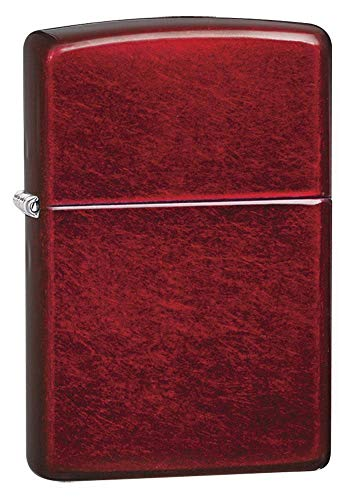 Zippo 21063 Candy Apple Red Pocket Lighter One Size 60001184