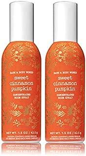Bath and Body Works 2 Pack Sweet Cinnamon Pumpkin Room Spray 1.5 Oz.