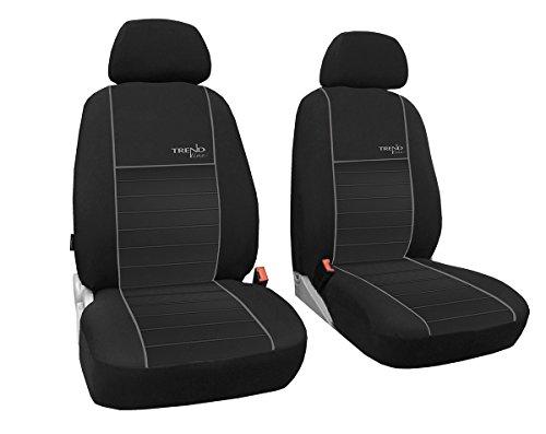 POK-TER-TUNING Vordersitzbezüge 1+1, Sitzbezüge passend für NV200 - Design Trend line.Farbe grau (In 6 Farben bei Anderen Angeboten erhältlich)