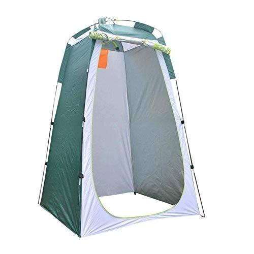 (N / A) Ajbzq tienda de campaña portátil de privacidad tienda de campaña, tienda de campaña, tienda de campaña, mochila al aire libre, toldo de refugio (color: verde)