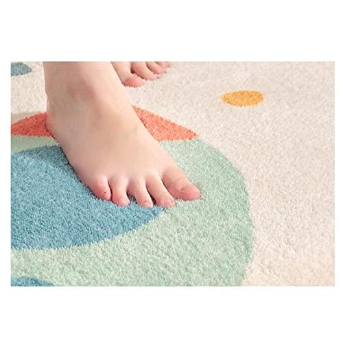 ZCAYIN Baby Spielmatte Krabbelmatte Faltbare Bodenmatte Baumwolle Krabbeldecke Weiche Cartoon Für Kinder Groß Spieldecke Teppich Kinderzimmer Dekoration,A,140 * 200cm