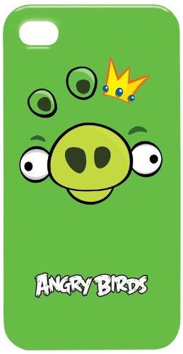 Gear4 Angry Birds Hülle für Apple iPhone 4S grün