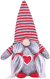 Professional Christmas Striped Hat Swedish Tomte Xmas Gnome Santa Moustache Doll, Santa Hat Decoration - Ruby Santa, Santa Ornaments, Long Christmas Hats, Holiday Gnomes, Elf Santa