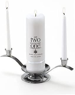 Personalized Wedding Unity Candle - Personalized Unity Candle Set - Ephesians