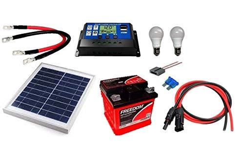 Kit Gerador de Energia Solar 10Wp - Gera até 32Wh/dia
