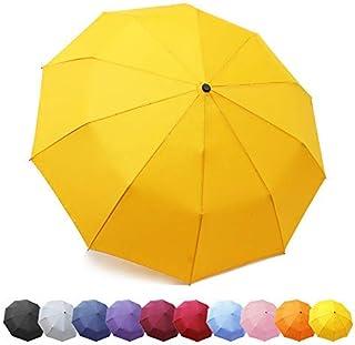 ZOMAKE Parapluies Pliants, Téflon 210t, Parapluie Automatique Incassable 10 Baleines, idéal en Homme Femme, Garantie à Vi...