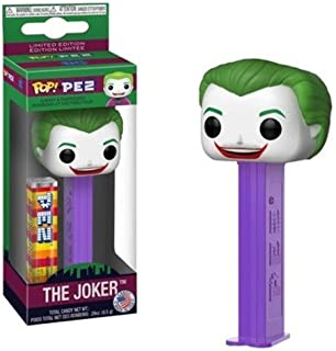 Funko 34793 POP! PEZ: Batman 1966 TV - Joker, Multicolor