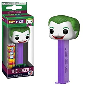 Funko DC Comics Batman 1966 Joker Pop! Pez Candy & Dispenser 4