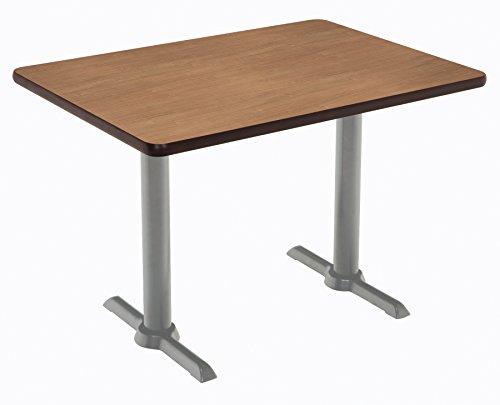"""KFI Seating Mode Multipurpose Table 30"""" x 60"""" Top River Cherry -  KFI Studios, T3060-B2065-SL-7937"""