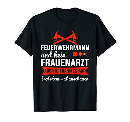Feuerwehr Jugendfeuerwehr Spruch Feuerwehrmann T-Shirt