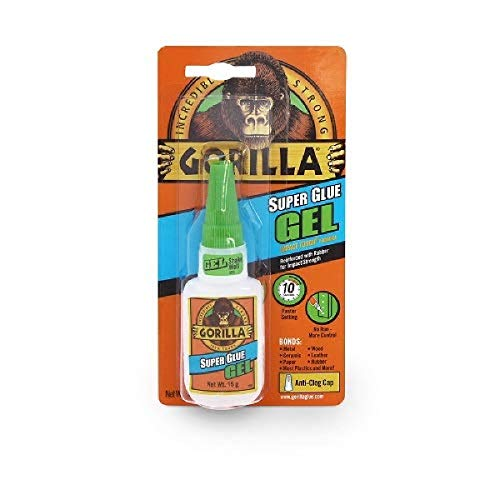 Gorilla 7700104 Super Glue Gel, 20g