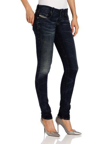 Diesel Grüpee-NE Super Skinny Jogging-Jeans für Damen - Blau - 27W x 32L
