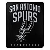 Northwest NBA San Antonio Spurs 50x60 Fleece Lay Up DesignBlanket, Team Colors, One Size