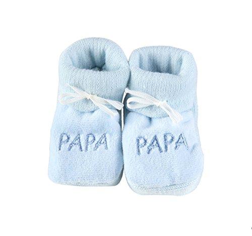 Babyschuhe für Neugeborene Papa – Blau