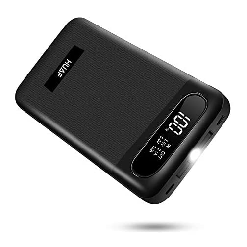 Power Bank Portable Charger 24000mAh Huge Capacity Battery Pack with 3 Inputs 2 Outputs Backup Battery Compatible Smart… 3