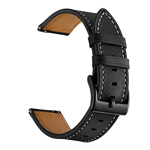 Cinturino per cinturino in vera pelle con cinturino da polso per Xiaomi Huami Amazfit Bip Lite SU Pop GTS 2 Youth Watch