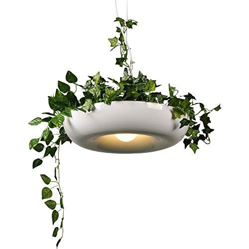 Wylolik Moderne designer pendelleuchte kücheninsel kronleuchter moderne e27 led pendelleuchten leuchten mit eisen lampenschirm for esszimmer cafe bar restaurant nordic hängelampe leuchte mit blättern