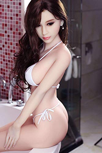 KingMansion 161cm 5.28ft Celina Oral Sex Doll Realistic Ass Vagina Lifelike Real Love Male Toy