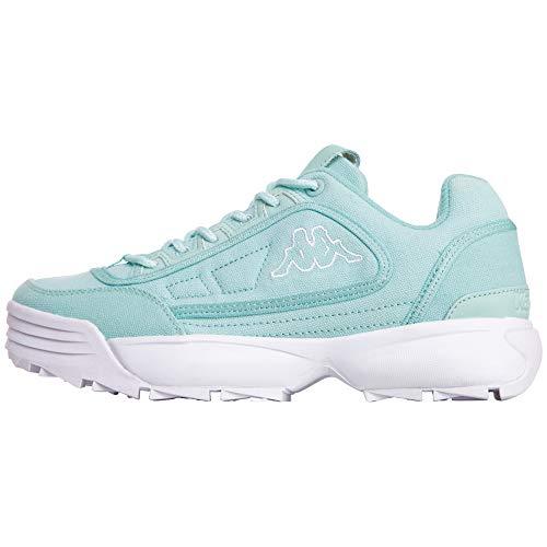 Kappa Womens Rave Sun sneakers, Turquoise, 39 EU