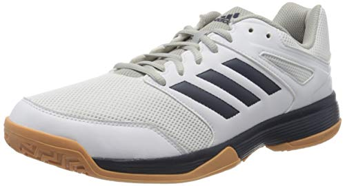 adidas Herren Performance Speedcourt Volleyballschuhe, Weiß (White EF2623), 42 EU