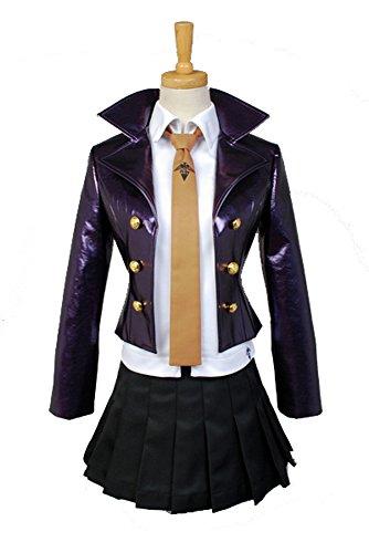 Fuman Danganronpa Kyoko Kirigiri Dress Cosplay Kostüm Damen Lila S