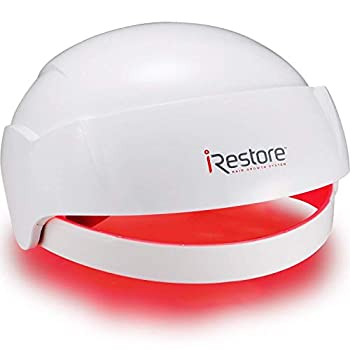 iRestore Essential Laser Hair Growth System - FDA Cleared Hair Loss Treatments - Hair Regrowth for Men and Women with Thinning Hair - Laser Cap Uses Red Light Therapy Laser Comb Hair Loss Products
