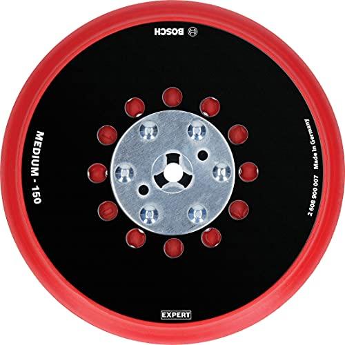 Bosch Professional 1x Expert Multihole Universalstützteller (Version mittel, Ø 150 mm, Zubehör Exzenterschleifer)