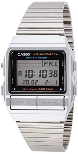 Casio DB380-1 - Reloj para Hombres, Correa de Acero...