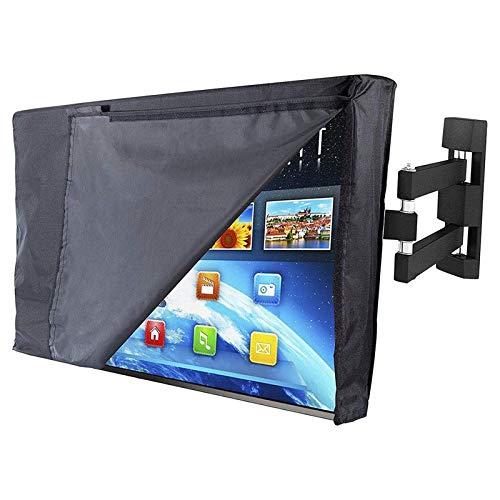 RENSHENKTO Cubierta de TV al aire libre pantalla plana interior universal colgante disponible protector impermeable