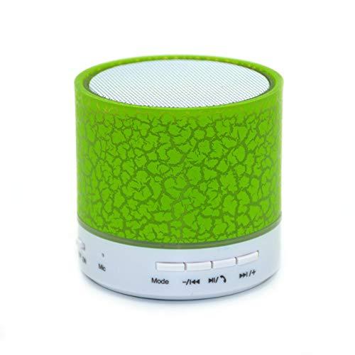 Bluetooth Lautsprecher Mini Wireless Lautsprecher Crack LED TF USB Subwoofer Bluetooth Lautsprecher MP3 Stereo...