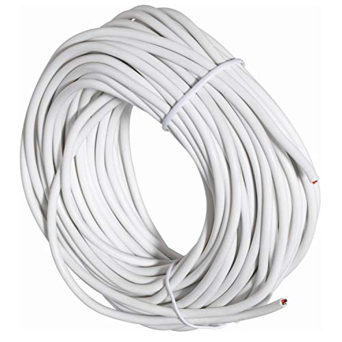 Base de cable bus Smatrix A-145, cable de 4 hilos, 50 metros, para transmisiones de bomba y caldera, color blanco (referencia 1071670)