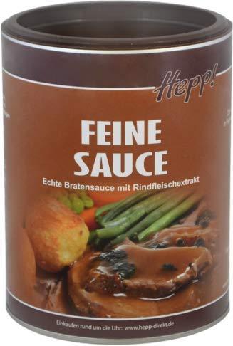 Hepp GmbH & Co KG - Feine Sauce - Echte Bratensauce 1000 GR