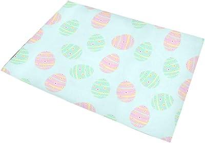 KWESG ラグマット きれいな卵 カーペット 滑り止め じゅうたん おしゃれ ホットカーペット 長方形 防ダニ折り畳み可能 オールシーズン 柔らかい 100*150cm