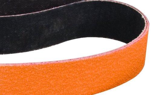 Dynabrade 79108 Keramik-Gürtel, 1,3 cm breit x 30,5 cm lang, Körnung 60, Orange