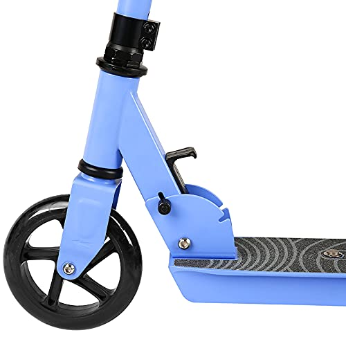 Kids Electric Scooter, Easy Foldable E-scooter For Children (BLUE), Adjustable Handles, 120W, Up to 6KM/h, 5