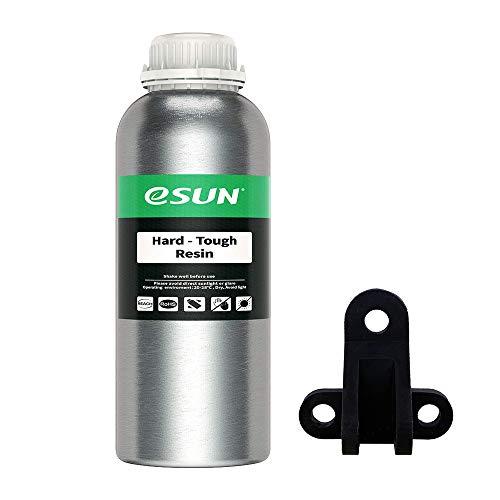 eSUN LCD UV 405nm ABS-Like Harz 3D Drucker Rapid Resin Hohe Härte und Zähigkeit Harz für LCD 3D-Drucker Schnell UV-Härtung Photopolymer Kunstharz Flüssige 3D-Druckmaterialien, 1000g Schwarz