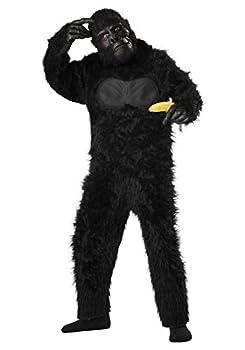 California Costumes Boys Gorilla Child Costume Black Small