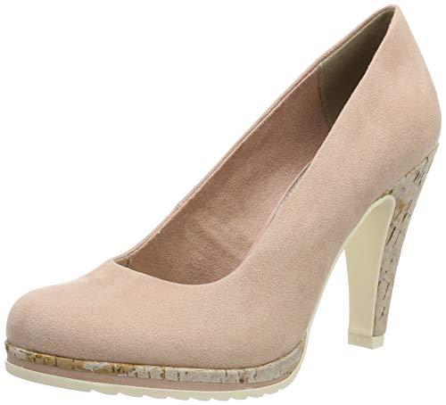 Marco Tozzi 2-2-22412-32, Zapatos con Plataforma para Mujer, Rosa (Rose 521), 37 EU