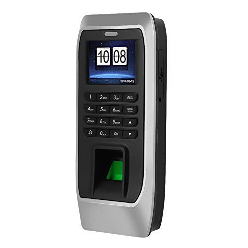 2,4-Zoll-TFT-LCD-Fingerabdruck-Zeiterfassungsgerät Zeiterfassungsgerät Fingerabdruck- / Passwort- / Kartenzugriffskontrollsystem Mitarbeiter Check-in-Leser