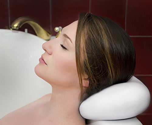 Luxury Bath Pillow with Suction Cups ✮ Washable and Waterproof Pillows for Spa ✮ Jacuzzi ✮...