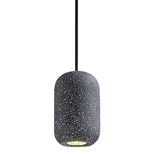 Zhaojdd Light up Life / Boutique Lighting Nordic Single Head hanglamp beton slaapkamer nachtkastje Macaron industriële bar hanglamp decoratieve lampen