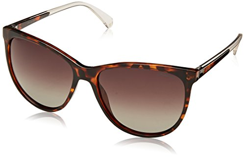 Polaroid PLD 4058/S LA 086 Gafas de sol, Marrón (Dark Havana/Bw Black Brown), 57 para Mujer
