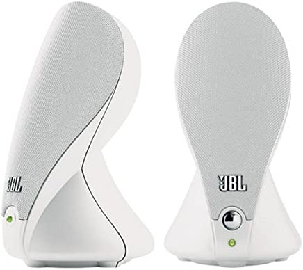 JBL Duet Speaker System for Portable Music and PC - White (Pair)