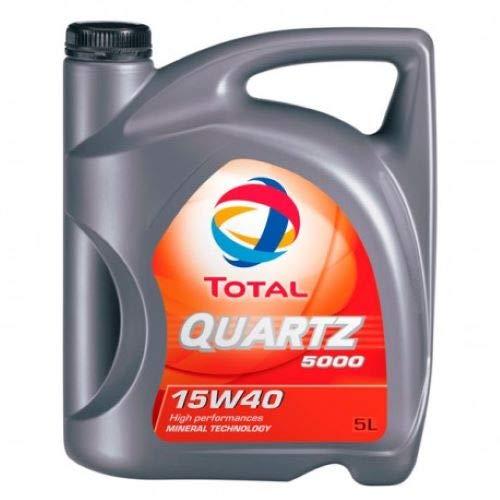 TOTAL TO5D15405 Quartz 5000 15W40 Diesel 5L